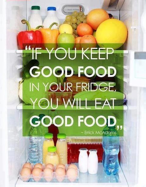 Keep Good Food to Eat Good Food
