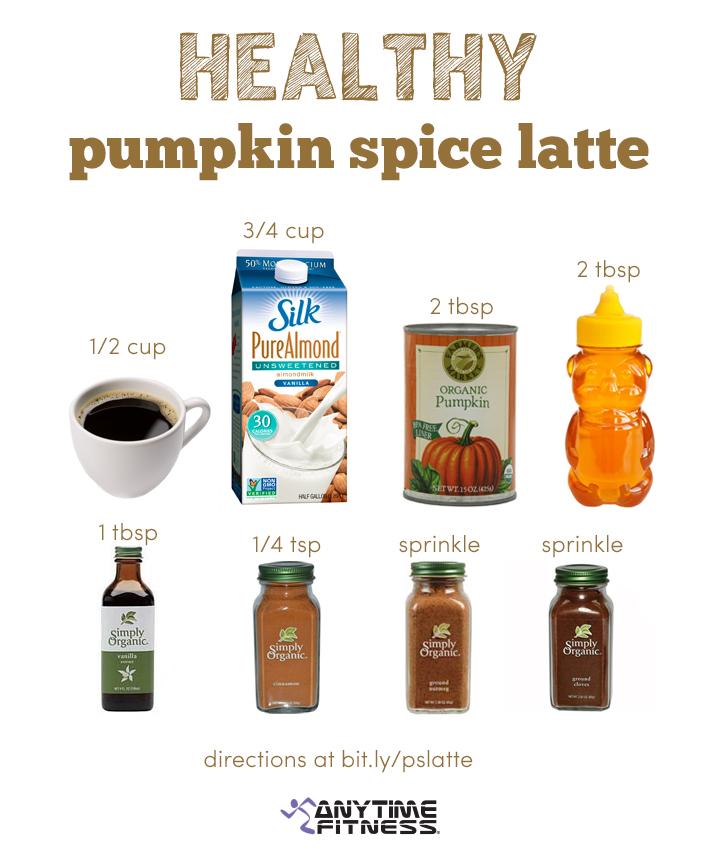 Pumpkin Spice Latte Healthy Style!