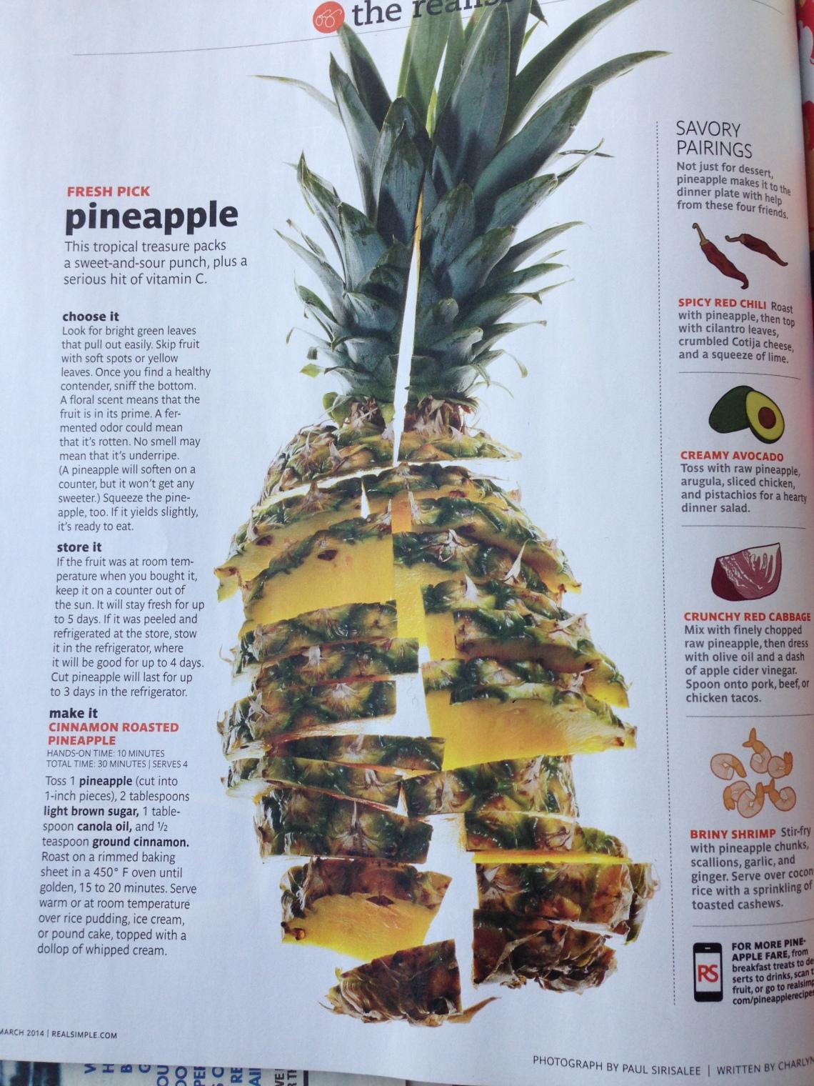 Fresh Pick Pineapple