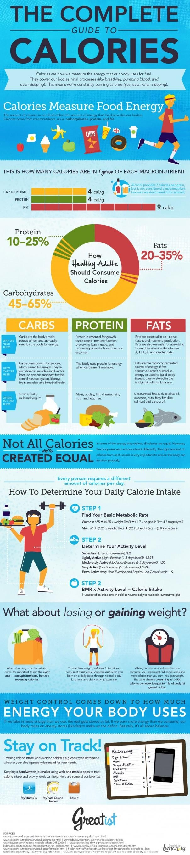 Complete Guide to Calories