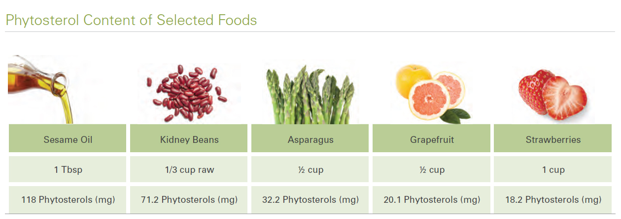 What Foods Are High In Phytosterols