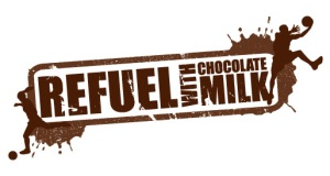 Darigold Refuel with Choc Milk Refuel stamp